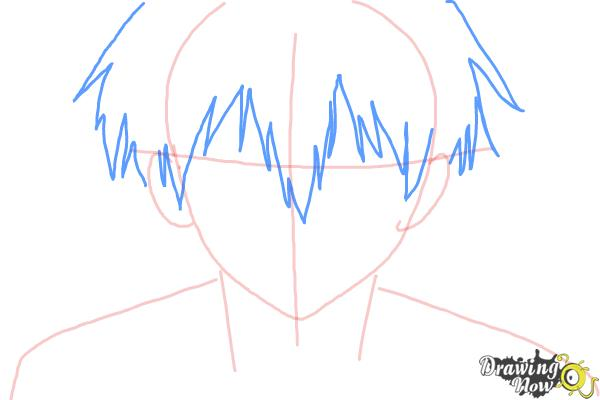 How to Draw Staz Charlie Blood from Blood Lad - Step 4