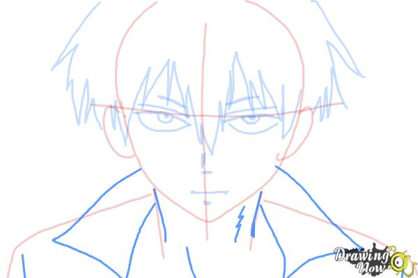 How to Draw Staz Charlie Blood from Blood Lad - Step 6