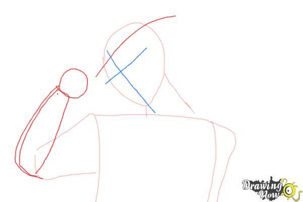 How to Draw Laito Sakamaki Diabolik Lovers - Step 3