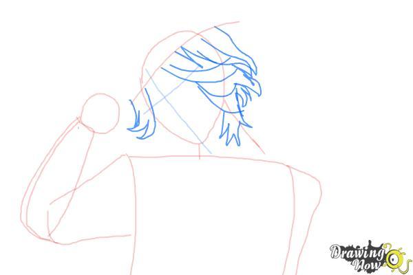 How to Draw Laito Sakamaki Diabolik Lovers - Step 4