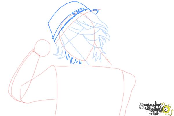 How to Draw Laito Sakamaki Diabolik Lovers - Step 5