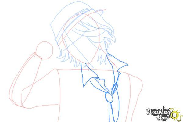 How to Draw Laito Sakamaki Diabolik Lovers - Step 6