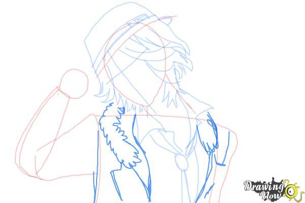 How to Draw Laito Sakamaki Diabolik Lovers - Step 7