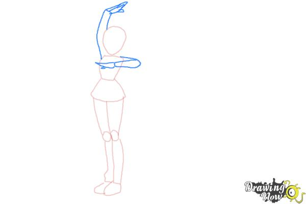 How to Draw Team Flare from Pokemon X & Y - Step 3