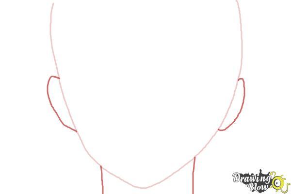 How to Draw Nike Remercier from Soredemo Sekai Wa Utsukushii - Step 2