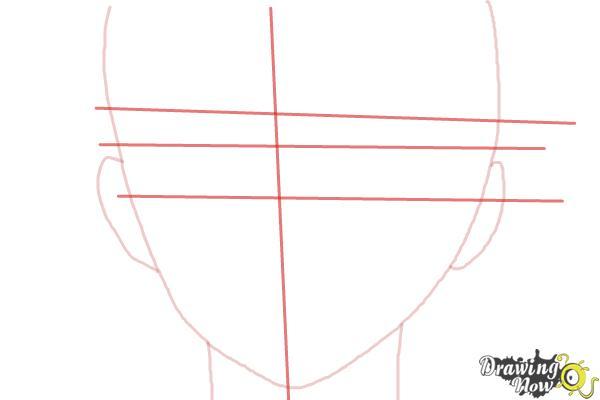 How to Draw Nike Remercier from Soredemo Sekai Wa Utsukushii - Step 3