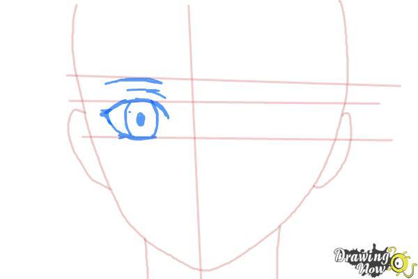 How to Draw Nike Remercier from Soredemo Sekai Wa Utsukushii - Step 4