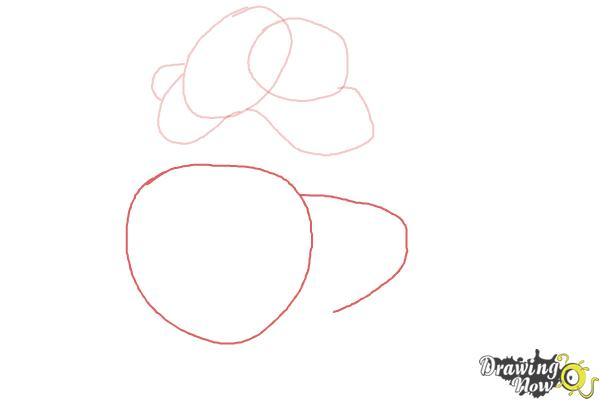 How to Draw Shere Khan, Disney Villain - Step 3