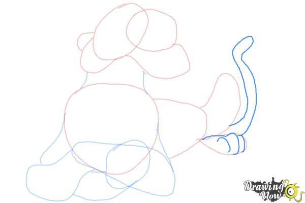 How to Draw Shere Khan, Disney Villain - Step 7