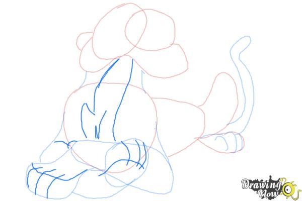 How to Draw Shere Khan, Disney Villain - Step 8