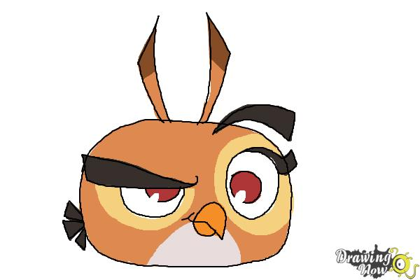 How To Draw Angry Bird Dahlia From Angry Birds Stella