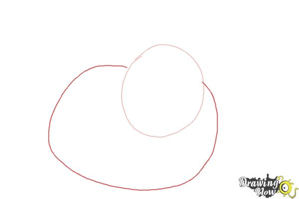 How to Draw a Lionhead Bunny - Step 2