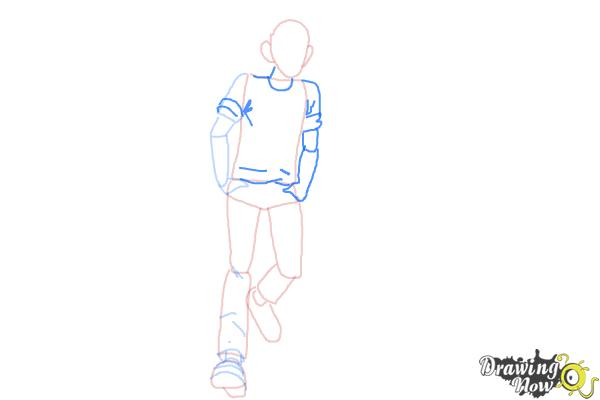How to Draw Jughead Jones from Archie - Step 6
