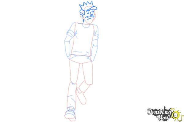 How to Draw Jughead Jones from Archie - Step 7