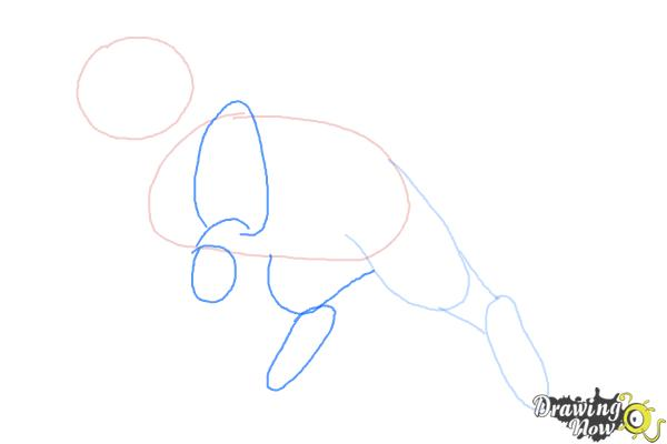 How to Draw Bluestar from Warrior Cats - Step 3