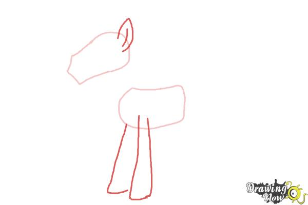 How to Draw Mr. Carrot Cake from My Little Pony Friendship Is Magic - Step 3