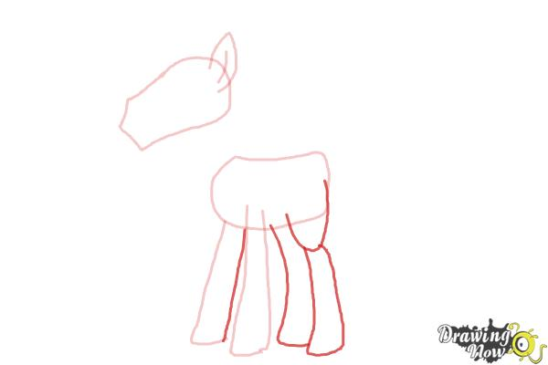 How to Draw Mr. Carrot Cake from My Little Pony Friendship Is Magic - Step 4
