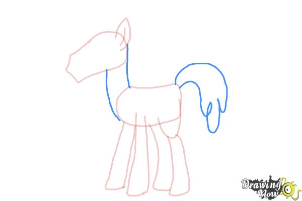 How to Draw Mr. Carrot Cake from My Little Pony Friendship Is Magic - Step 5