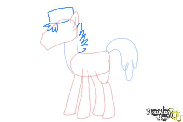 How to Draw Mr. Carrot Cake from My Little Pony Friendship Is Magic - Step 6