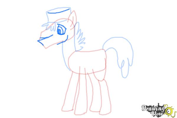 How to Draw Mr. Carrot Cake from My Little Pony Friendship Is Magic - Step 7