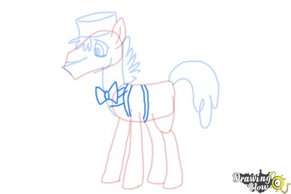 How to Draw Mr. Carrot Cake from My Little Pony Friendship Is Magic - Step 8