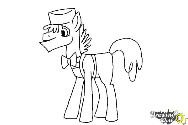 How to Draw Mr. Carrot Cake from My Little Pony Friendship Is Magic - Step 9