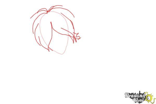 How to Draw Subaru Sakamaki Diabolik Lovers - Step 2