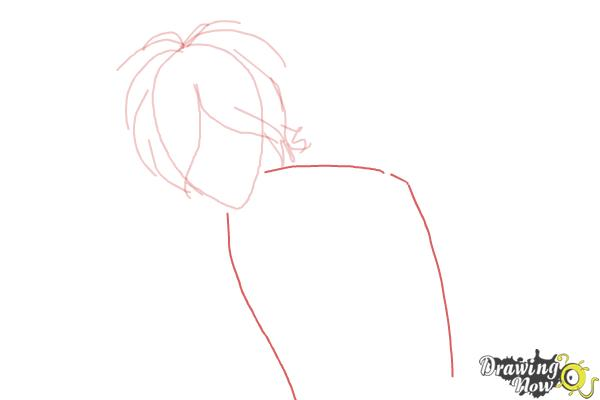 How to Draw Subaru Sakamaki Diabolik Lovers - Step 3