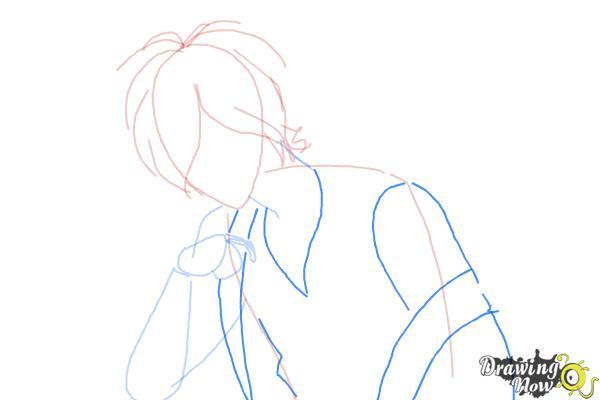 How to Draw Subaru Sakamaki Diabolik Lovers - Step 5