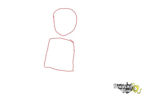 How to Draw Misaki Suzuhara from Angelic Layer - Step 1