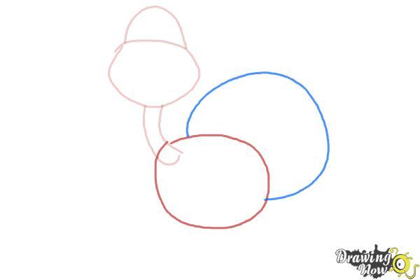 How to Draw a Turkey For Kids - Step 3