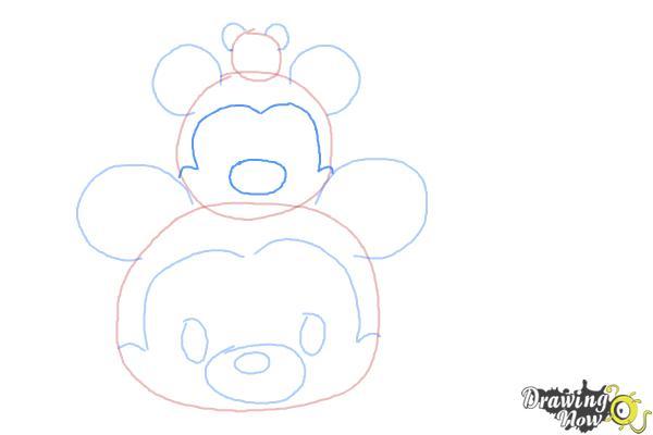 How to Draw Disney Tsum Tsum - Step 5