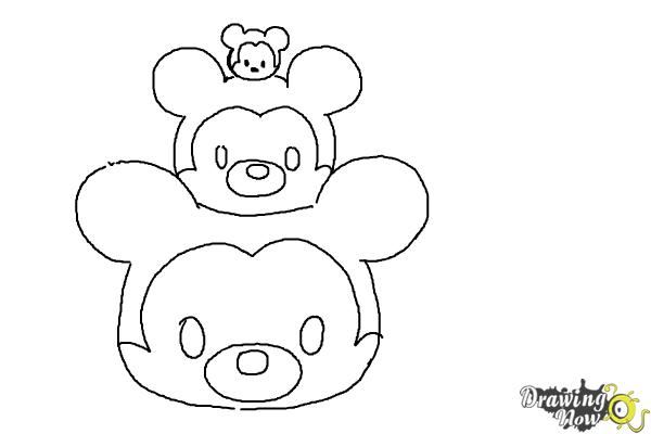 Draw Tsum Tsum Buzz Step By Step Drawing Sheets Added: How To Draw Disney Tsum Tsum