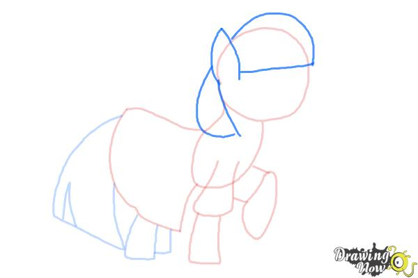How to Draw Photo Finish from My Little Pony Friendship Is Magic - Step 6