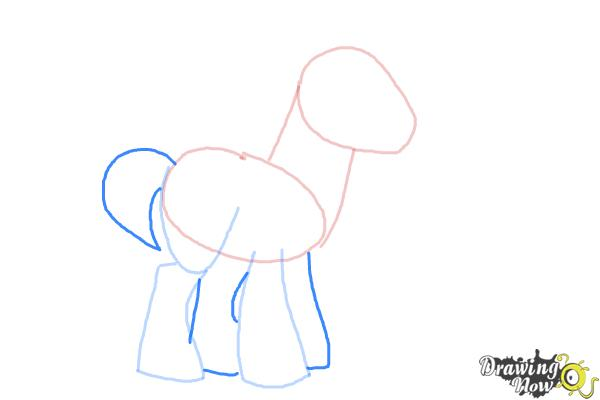 How to Draw Big Mcintosh from My Little Pony Friendship Is Magic - Step 4