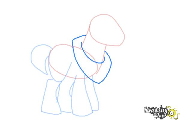 How to Draw Big Mcintosh from My Little Pony Friendship Is Magic - Step 5