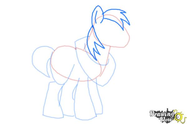 How to Draw Big Mcintosh from My Little Pony Friendship Is Magic - Step 6
