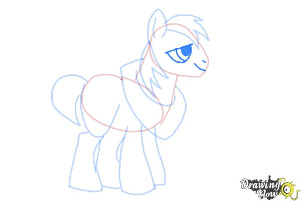 How to Draw Big Mcintosh from My Little Pony Friendship Is Magic - Step 7