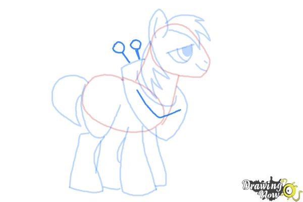 How to Draw Big Mcintosh from My Little Pony Friendship Is Magic - Step 8