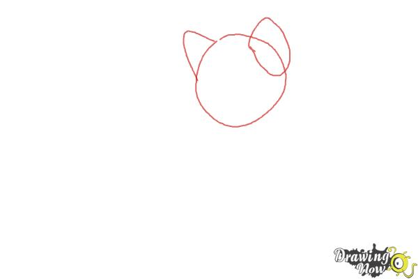 How to Draw Crookedstar from Warrior Cats - Step 1