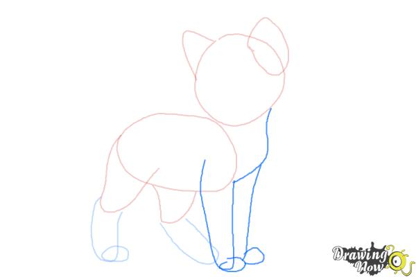 How to Draw Crookedstar from Warrior Cats - Step 4