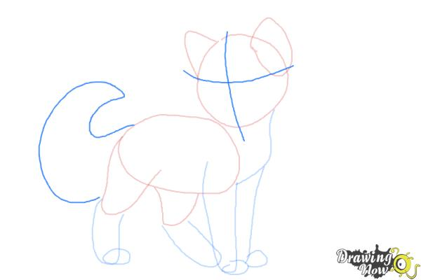 How to Draw Crookedstar from Warrior Cats - Step 5
