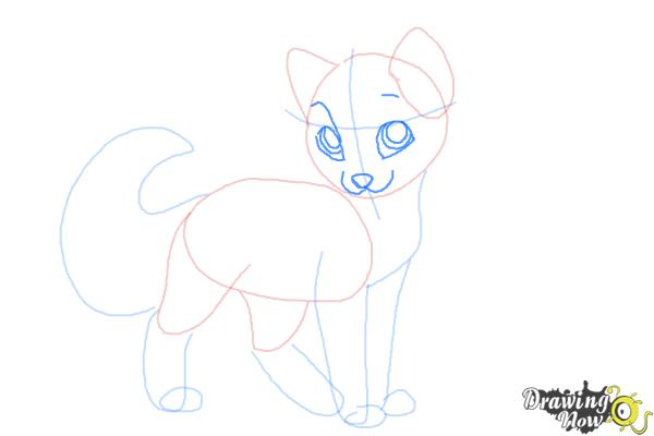 How to Draw Crookedstar from Warrior Cats - Step 6