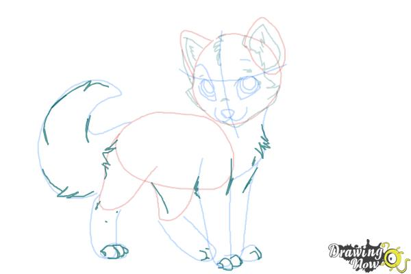 How to Draw Crookedstar from Warrior Cats - Step 8