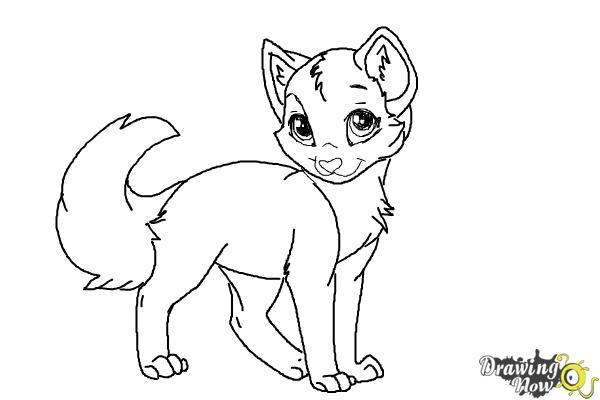 How to Draw Crookedstar from Warrior Cats - Step 9
