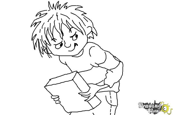 How to Draw Horrid Henry - DrawingNow