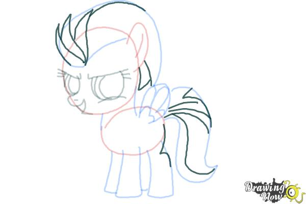 How to Draw Lightning Dust from My Little Pony Friendship Is Magic - Step 10