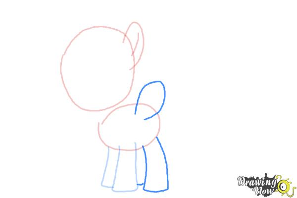 How to Draw Lightning Dust from My Little Pony Friendship Is Magic - Step 4