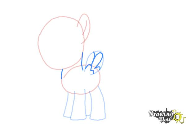 How to Draw Lightning Dust from My Little Pony Friendship Is Magic - Step 5