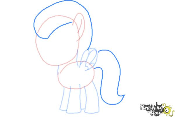 How to Draw Lightning Dust from My Little Pony Friendship Is Magic - Step 6